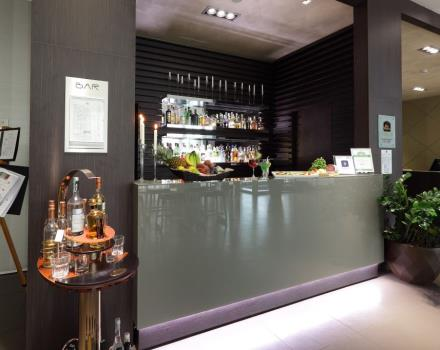 After the check in, take the time to enjoy a special cocktail of the Best Western Premier CHC Airport in Genoa!