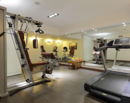 Book the Best Western Premier CHC Airport and you will have access to the minigym!